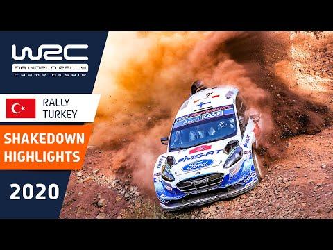 WRC ラリー・ターキー(トルコ)。シェイクダウンの様子をダイジェストで楽しめるハイライト動画