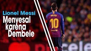 Menang 3-0 atas Liverpool, Lionel Messi Menyesal karena Dembele Buang Peluang Emas