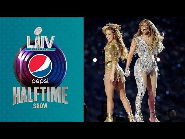 Confira o Show Shakira & J. Lo's  Super Bowl