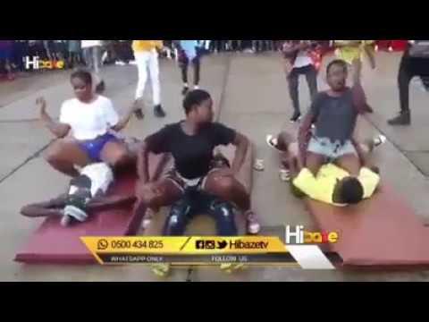 Ghana teenage girls goes semi porn