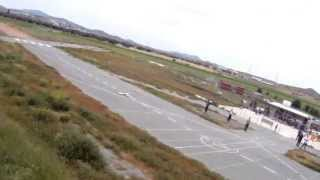 preview picture of video 'HD FPV High and Low Flying|Kotsiatis Airfield|Eaglewing RC Glider'