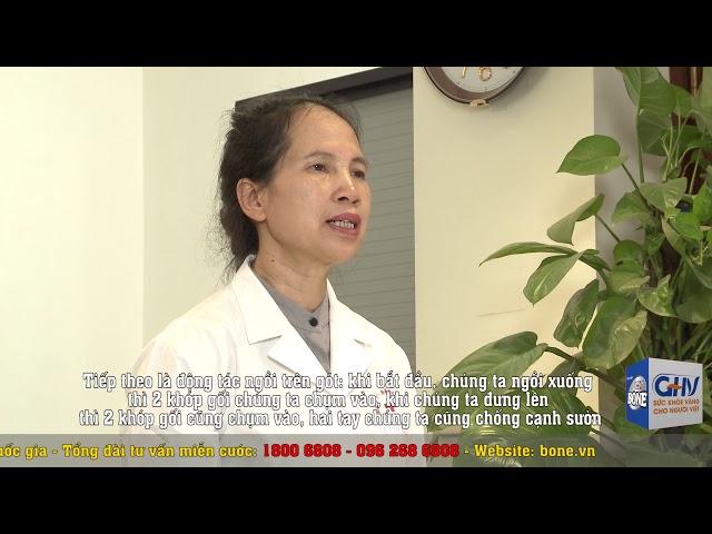 Bài tập tại nhà cho người bị bệnh khớp - Bài 6: Tập luyện khớp gối