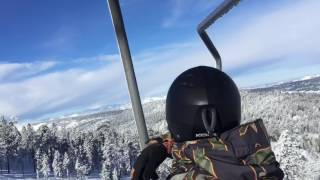 Skiing At Bear Mountain In Big Bear Lake, CA January 24, 2017 Part 3