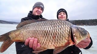 Последняя рыбалка по льду