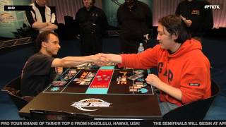 Pro Tour Khans of Tarkir Quarterfinals (Standard): Shaun McLaren vs. Lee Shi Tian