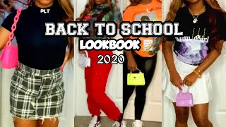 BACK TO SCHOOL LOOKBOOK + OUTFIT IDEAS!! 2020