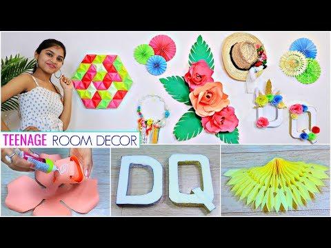 6 DIY Teenager ROOM DECOR Ideas..   #WallDecor #WallArt #Anaysa #DIYQueen
