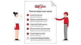 Thermo-Clean presenteert haar nieuwe kernwaarden