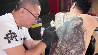 Chinese Tattoo Artist Uses His Own Way To Strengthen The Chinese Culture In LA