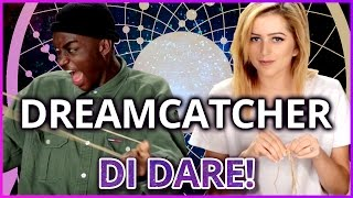 DIY Dreamcatcher?! | Di-Dare w/ Rickey Thompson and Lycia Faith