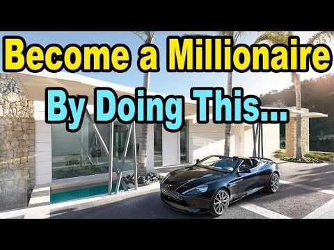 , title : 'How to ACTUALLY become a Millionaire (even without a high income)