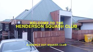 Double Dot Squash Partners with the Henderson Squash Club