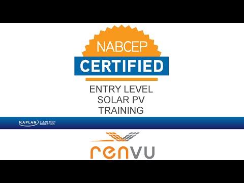 Kaplan Entry Level Solar NABCEP Prep OnDemand Course ...