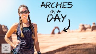 Arches National Park Utah: Travel Tips for a Single Day [4K]