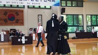 2019. 7단대회 준결승 50박상섭(청주시청 감독) 70이강호(구미시청 선수) 영상