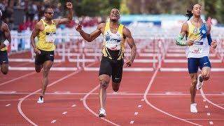 Saint-Etienne 2019 : Finale 110 m haies (Wilhem Belocian en 13''14)