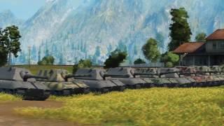 ИС 4  Против Е 100 Танкомахач   от ARBUZNY и TheGUN