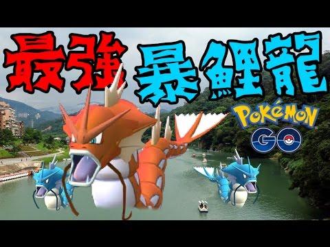 Pokemon GO : 精靈寶可夢GO ➲ 遊戲中最強的暴鯉龍 / 碧潭風景區