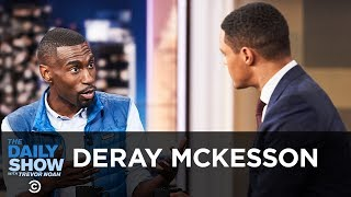 """DeRay Mckesson - """"On the Other Side of Freedom"""" and Examining Police Violence   The Daily Show"""