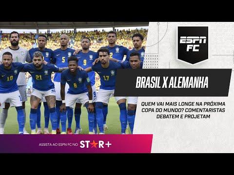 BRASIL X ALEMANHA: QUEM VAI MAIS LONGE NA COPA DO MUNDO? ESPN FC debate e projeta