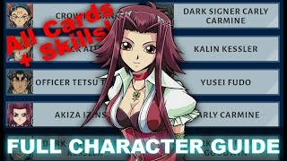 FULL CHARACTER VALUE GUIDE! REWARDS + SKILLS TIER LIST! New Player Guide (5Ds, Yu-Gi-Oh! Duel Links)