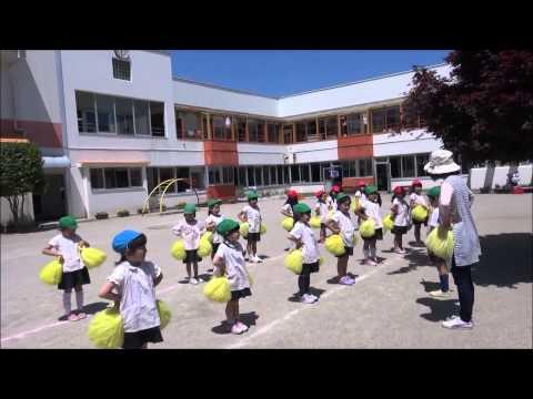 ともべ幼稚園「ポンポン隊 絶好調!」