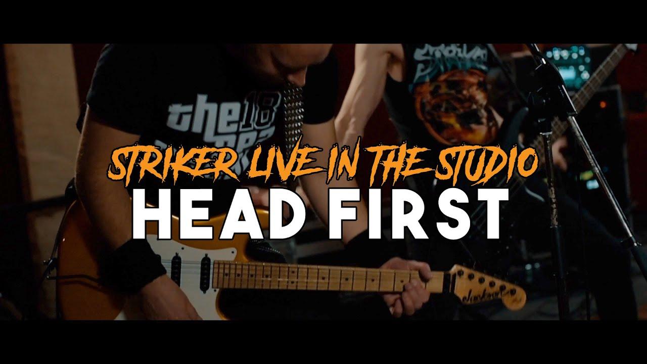 STRIKER - Head first (live)