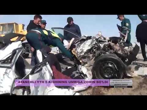 5 человек погибли в крупном ДТП в Намангане