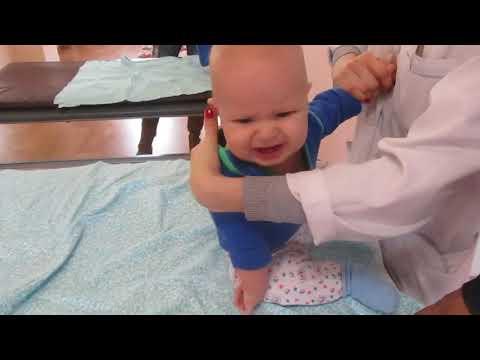 детская гимнастика для грудничков при синдроме мышечной дистонии
