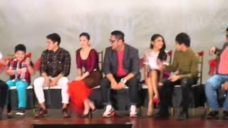 Daniel Padilla - Pagpag Grand Presscon (Part 1)