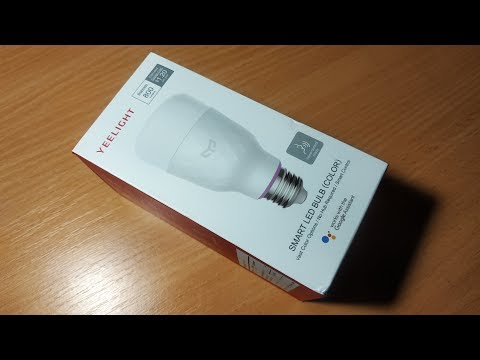 Yeelight Smart светодидная лампам SMART LED BULB COLOR
