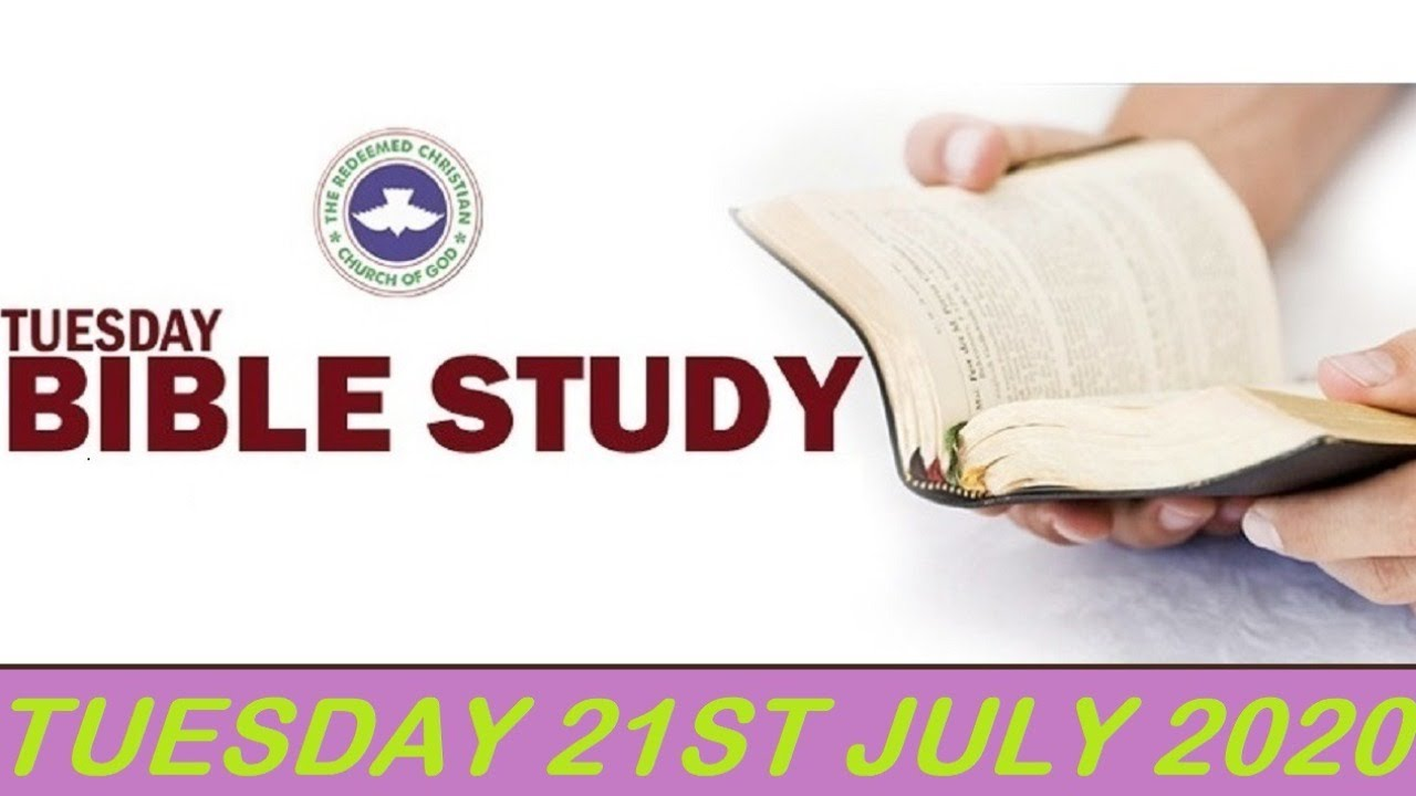 RCCG 21st July 2020 Bible Study with Pastor E. A. Adeboye