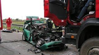 Жестокие аварии и дтп. Подборка страшных автокатастроф с жертвами. не для слабонервных