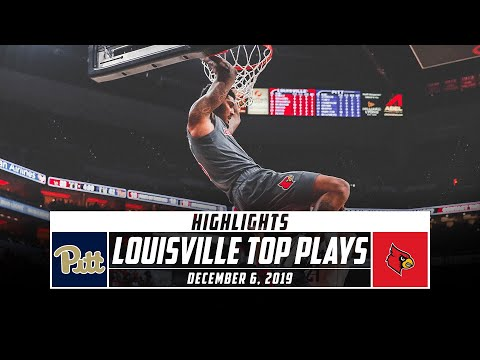 No. 1 Louisville Top Plays vs. Pittsburgh (2019-20) | Stadium
