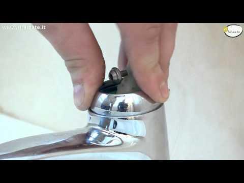 Cambiare la cartuccia di un rubinetto miscelatore che gocciola
