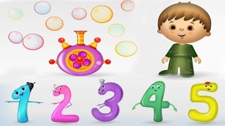 Numbers For Kids, Counting 1 To 10, Fun Math Game, Learning Videos For Children, Preschoolers