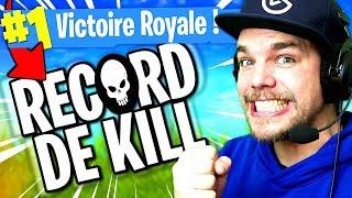 NOUVEAU RECORD DE KILLS sur FORTNITE: Battle Royale !!