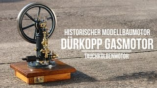 Dürkopp Gasmotor Tauchkolbenmotor Modellbau Gussteilesatz Von Bengs Modellbau