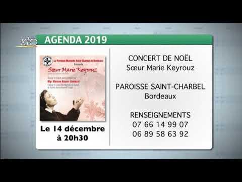 Agenda du 6 décembre 2019
