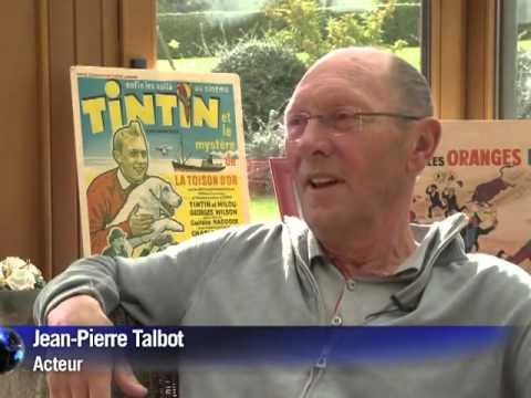 Tintin et le mystère de la Toison d'Or, tintin et les oranges bleues. Jean-Pierre Talbot