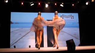 preview picture of video 'Mode City Paris 2012: swimwear & lingerie catwalk show 9'