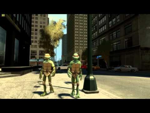 Transform Grand Theft Auto IV Into Zelda, Mass Effect, TMNT Or Halo