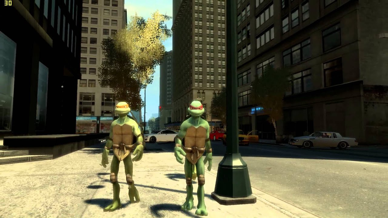 Transform Grand Theft Auto IV Into Zelda, Mass Effect, TMNT Or Halo