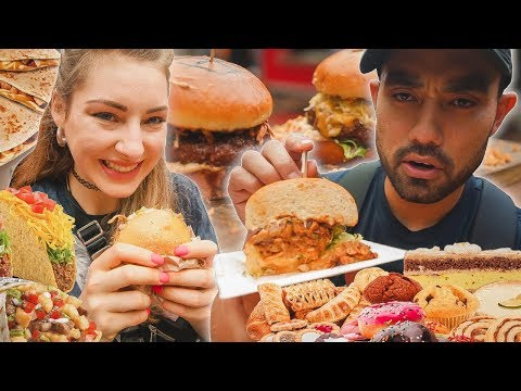 Full Day of CHEATING   Burger Festival in Germany