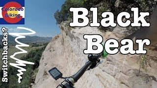 Climbing Black Bear from east to west. How technical and how many switchbacks are there?