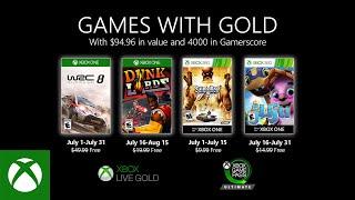 Games With Gold di luglio