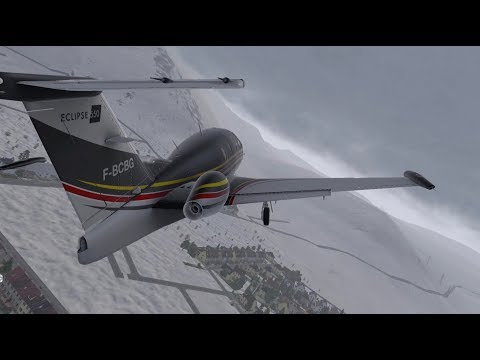 XPLANE 11 BOEING 737 ZIBO MOD ICELANDAIR LIVERY LANDING AT BIRK