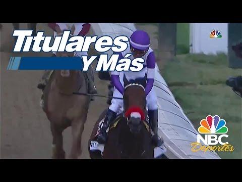 Mario Gutiérrez ganó el Derby de Kentucky con su caballo Nyquist   Titulares y Más   NBC Deportes
