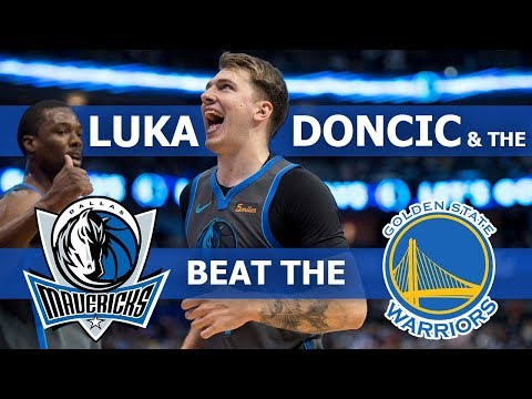 How Luka Doncic and the Mavericks beat the Golden State Warriors