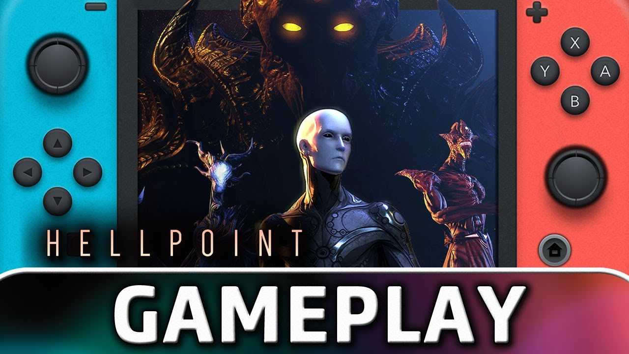 Hellpoint | Nintendo Switch Gameplay and Frame Rate